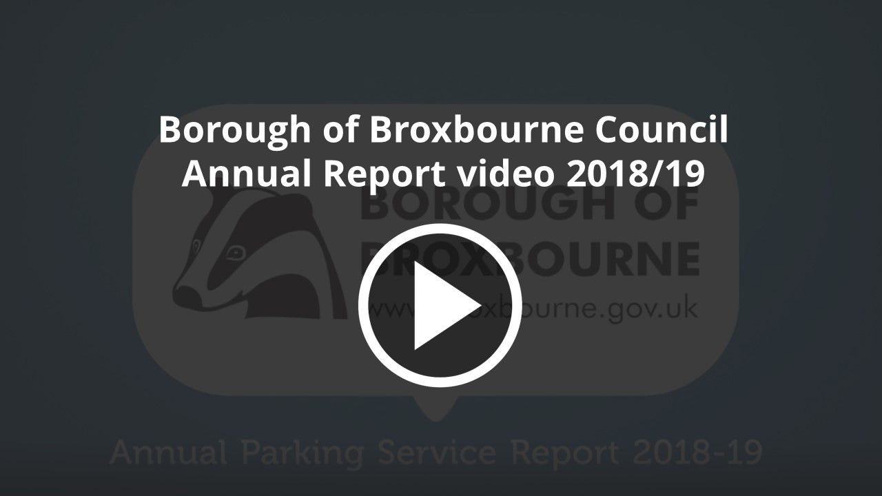 Borough of Broxbourne Annual Report Video 201819
