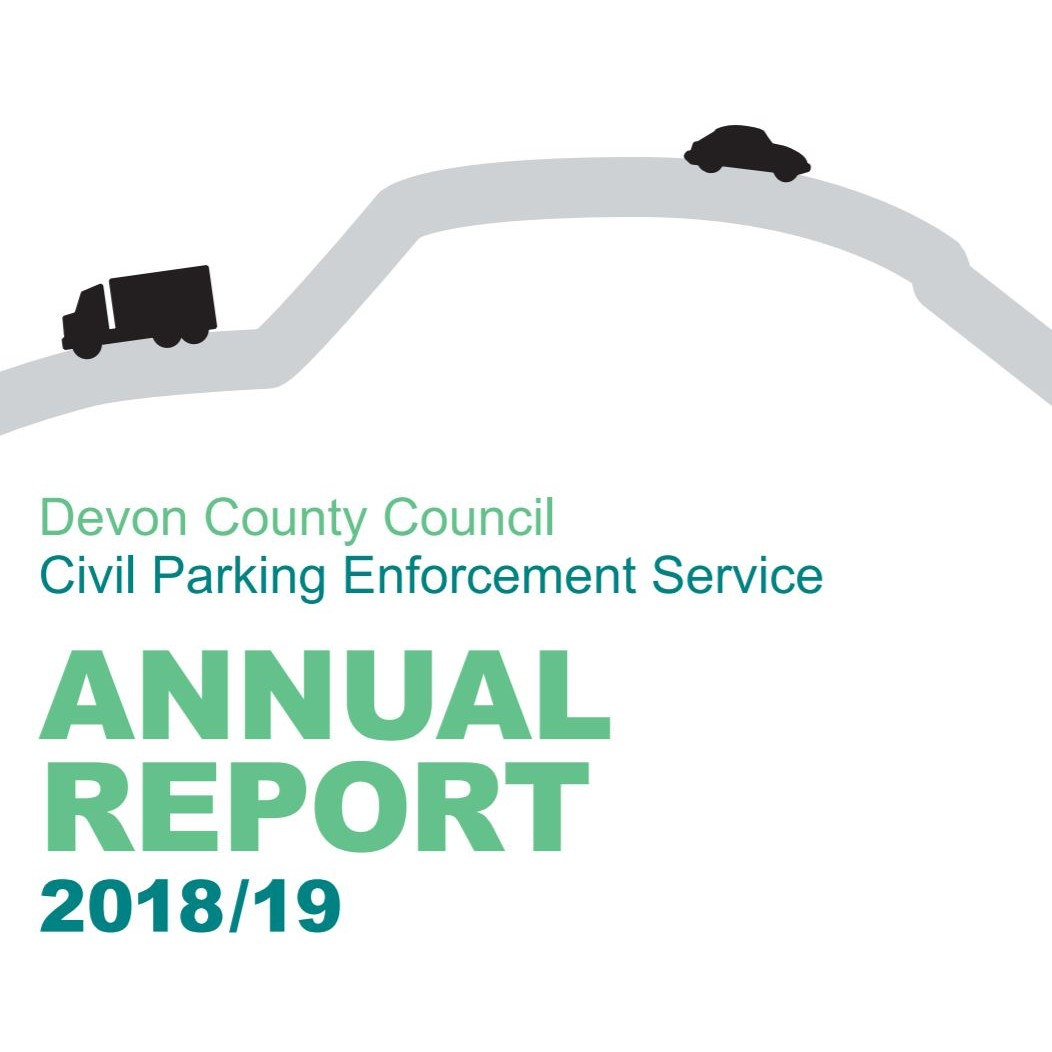 Cover of Devon County Council 201819 Annual Report