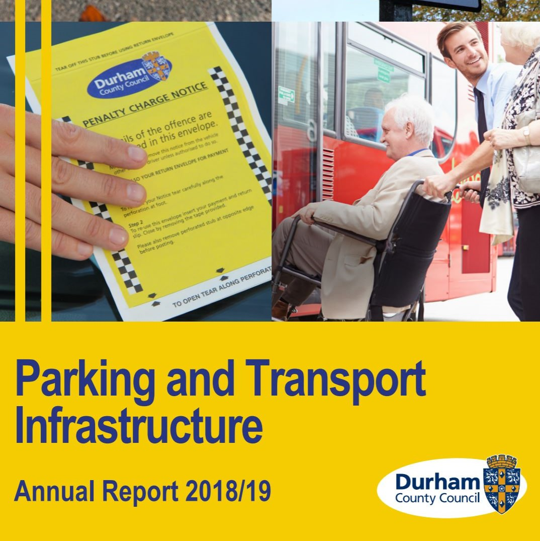 Cover of Durham County Council 201819 Annual Report