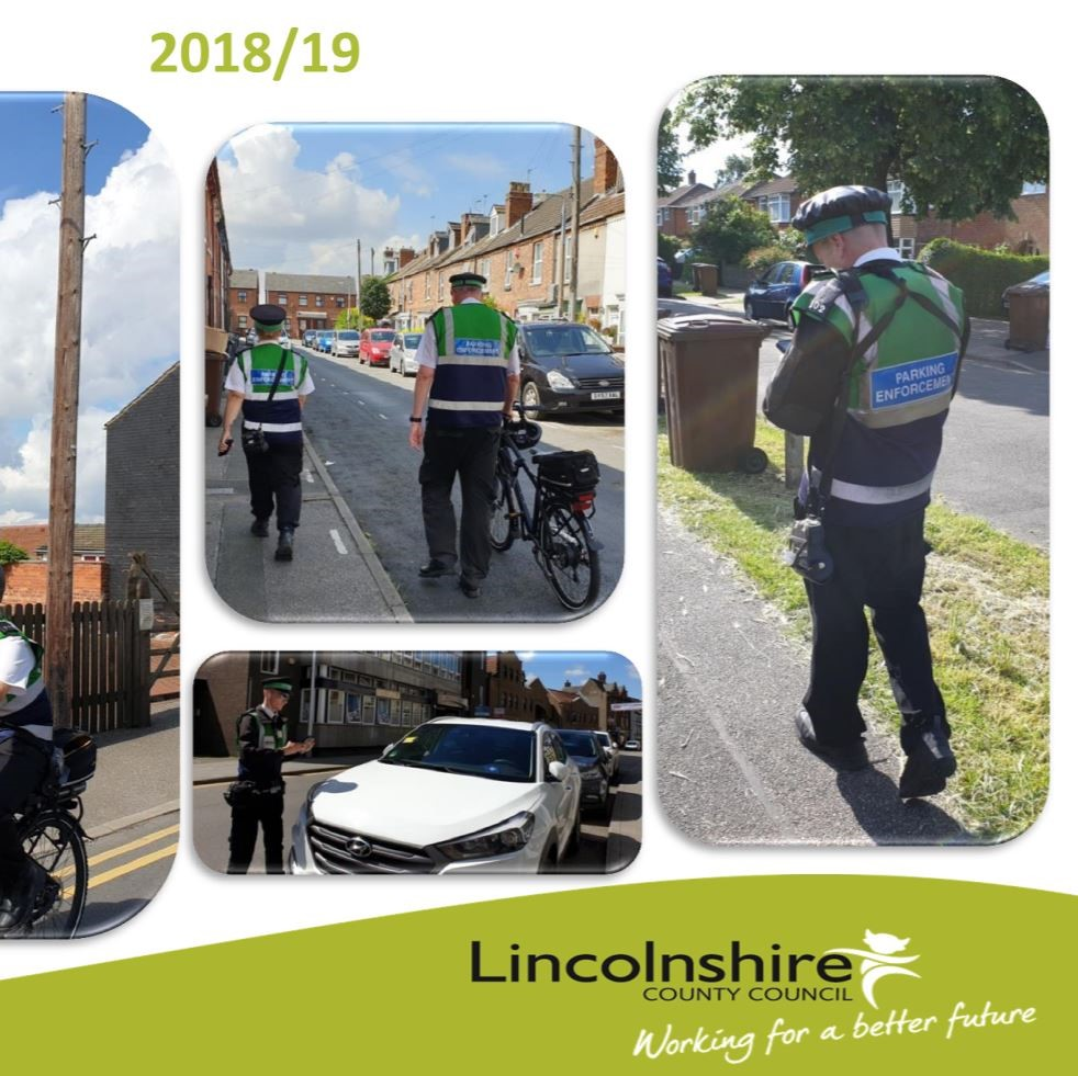 Cover of Lincolnshire County Council 201819 Annual Report